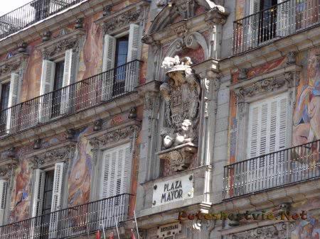 Здание на Плаза Майор в Мадриде