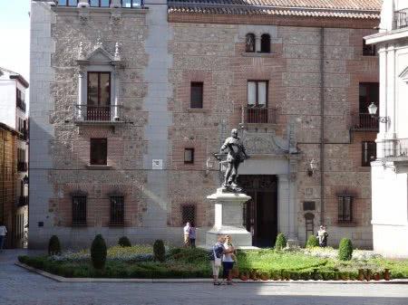 Тихий уголок испанской столицы