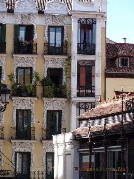 Очень красивый особняк Мадрида