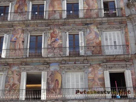 Каса Панадерия на Плаза Майор в Мадриде