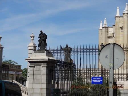 Забор Кафедрального собора Мадрида