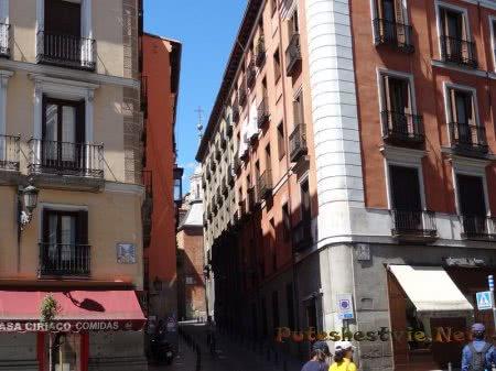 Улицы для велосипедистов в Мадриде