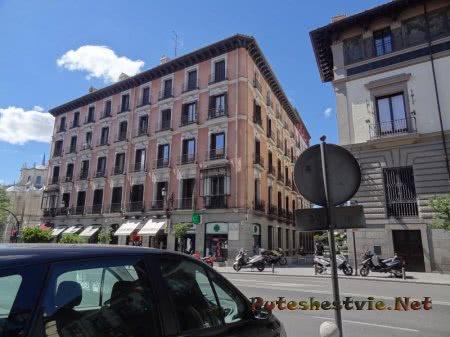 Многоквартирный дом в столице Испании