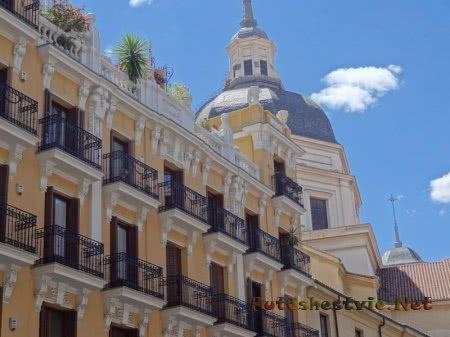 Искусственное озеленение крыш в Мадриде