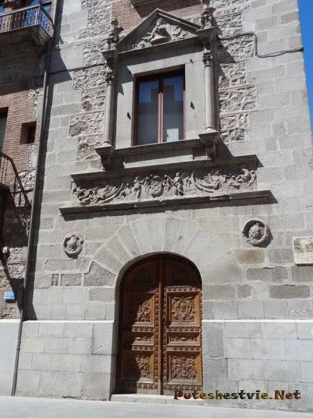 Интересная архитектура Мадрида