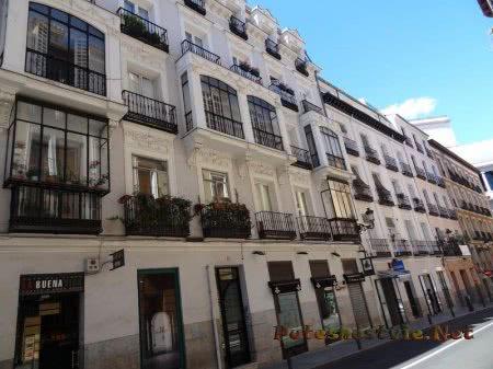 Красивые балкончики квартир в Мадриде