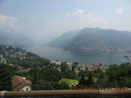 Озеро и горы Швейцарии