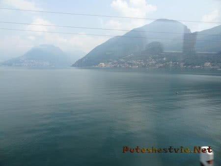 Городки у подножия каждой горы в Швейцарии
