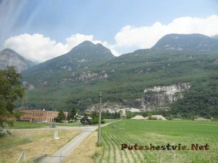 Горы и поля Швейцарии