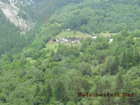 Горная швейцарская деревня