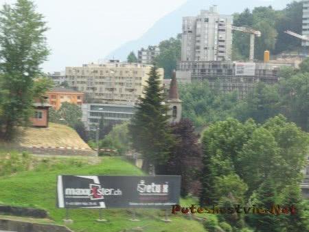 Стройка в Альпийских горах