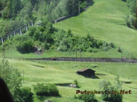 Огороженные наделы земли в Альпах