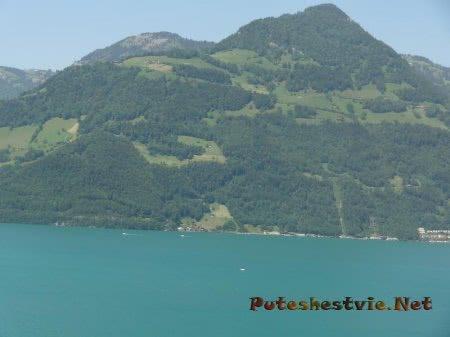 Прекрасные виды далекой Швейцарии