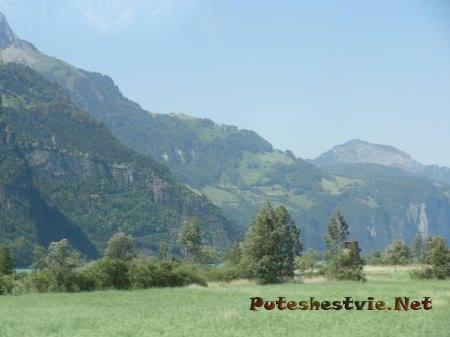 Горы и равнины Швейцарии