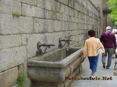 Поилки для лошадей в Эскориале