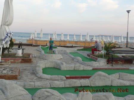 Болгарский курорт Солнечный берег