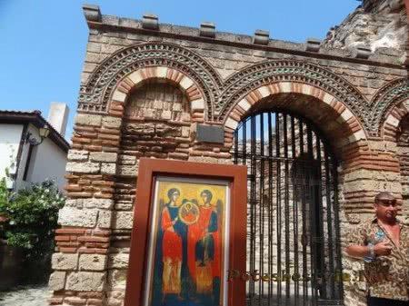 Икона Архангелов Михаила и Гавриила в Несебре