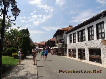 Ухоженные улочки болгарского Несебра