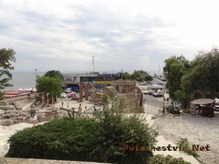 Дорога ведущая к порту Несебра