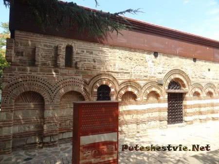 Стена Церкви Святой Праскевы Несебра