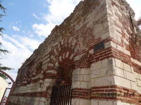 Стены Церкви Иоанна Алитургетоса