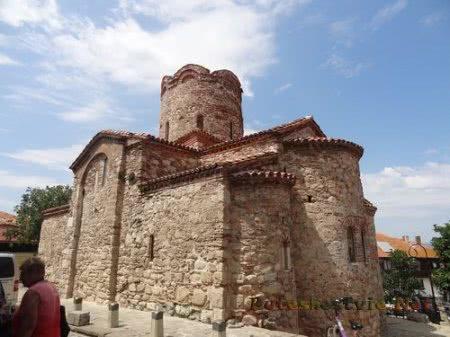 Интересная архитектура церкви Несебра