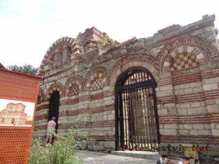 Началась реставрация несебрской Церкви Архангелов Михаила и Гавриила
