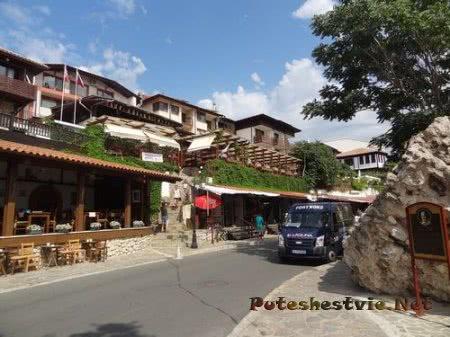 Живописные виды городка Несебр