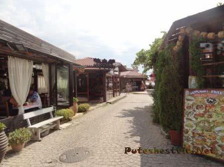 Зона кафе в Несебре