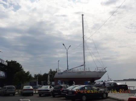 Территория порта Несебра