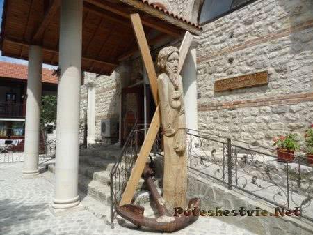 Вход в болгарский церковный музей Несебра