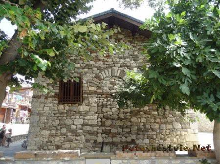 Грубая кладка древней церкви Несебра