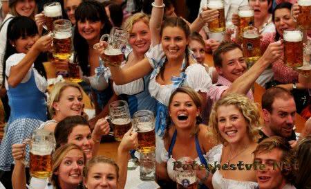 фестиваль пива в Германии