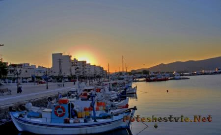 Греческий остров Эвбея