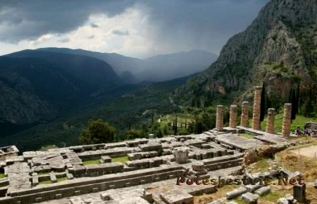 Дельфы – древний город Греции
