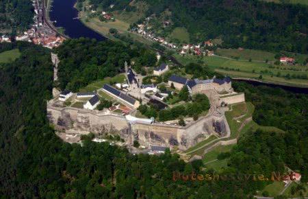 Старинные замки Саксонии