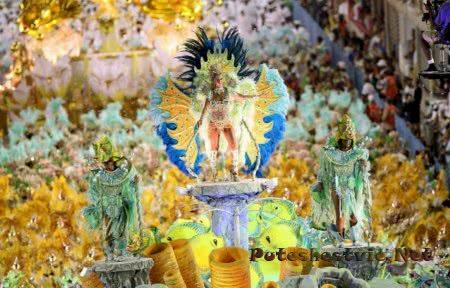 красивый карнавал в Бразилии