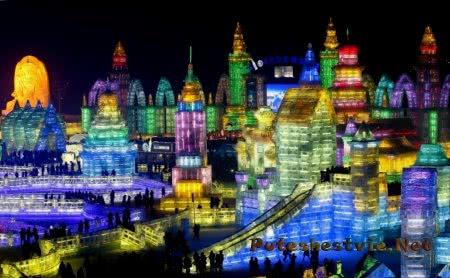 Международный фестиваль льда и снега в Китае
