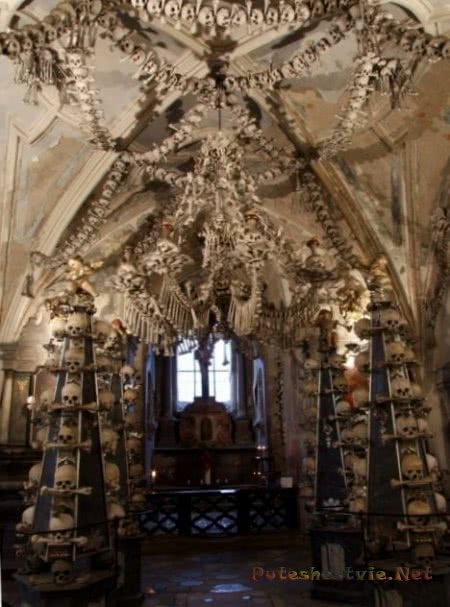 Церковь Костница в Чехии