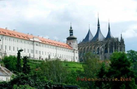 Чешский средневековый город Кутна Гора