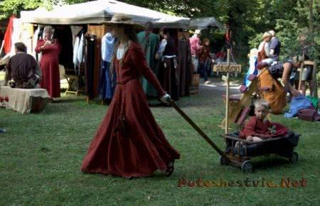 Фестиваль Неделя Средневековья в Швеции