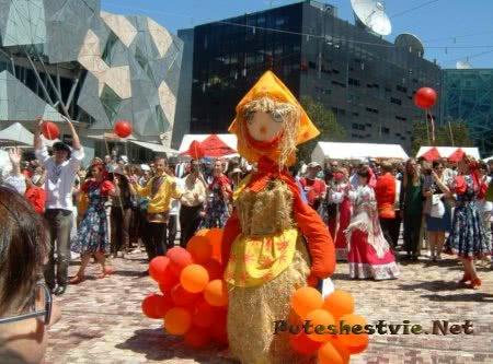 В России пройдет праздник Масленицы
