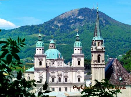 Австрийский город Зальцбург