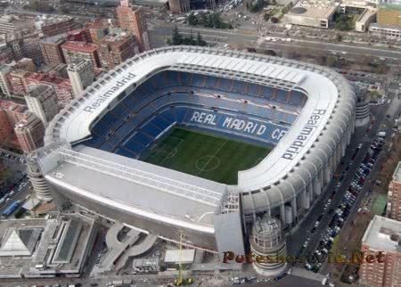 Стадион «Сантьяго Бернабеу» в Мадриде
