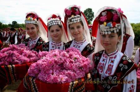 Болгарский фестиваль роз