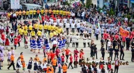 Болгарский праздник фестиваль роз