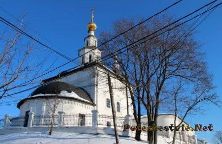 Старинный город Владимир
