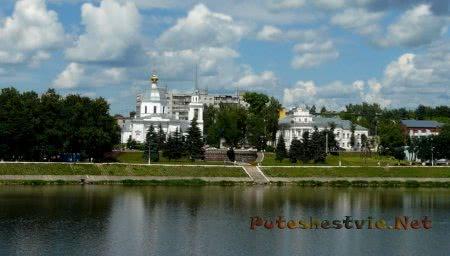 Старинный город Тверь