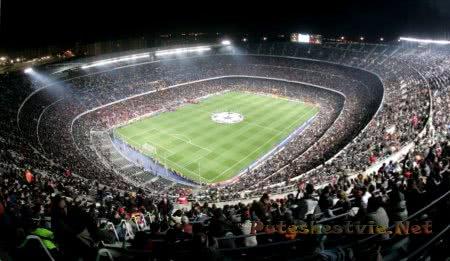 Стадион «Камп Ноу» в Барселоне