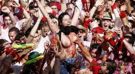 Испанский праздник Сан-Фермин